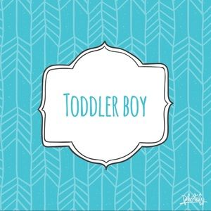 Toddler boy section